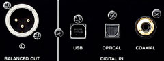 Built-in USB DAC functions