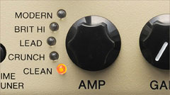 THR5 offers five amp types