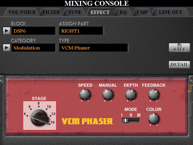 VCM-Mixing-console