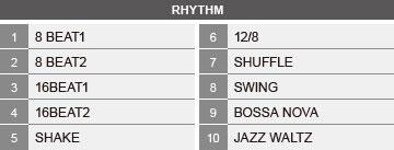 built-in-rhythm-tracks